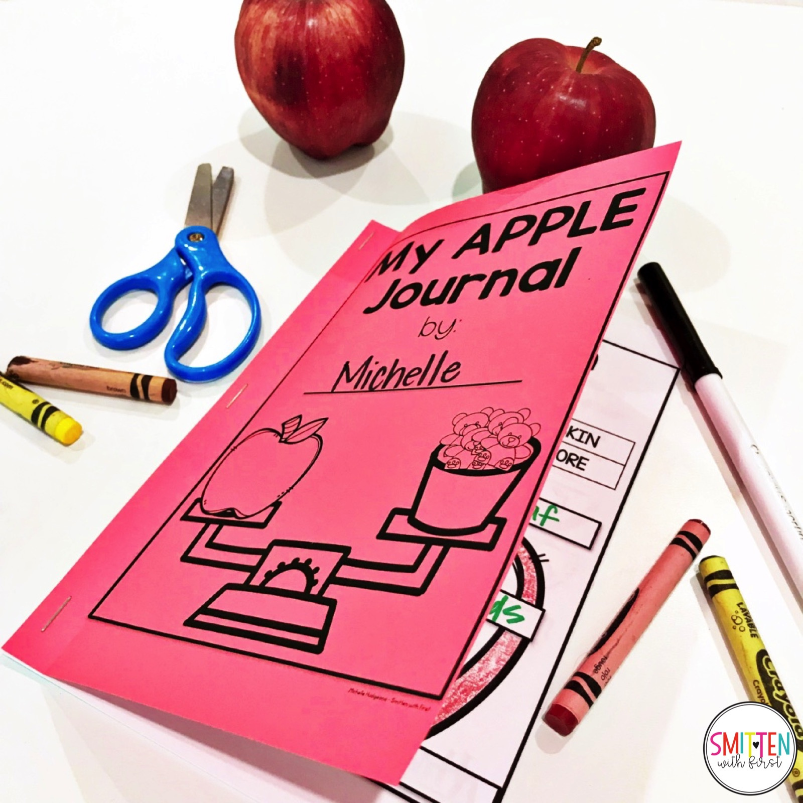 Apple Activities For Math Science And 5 Senses For 1st