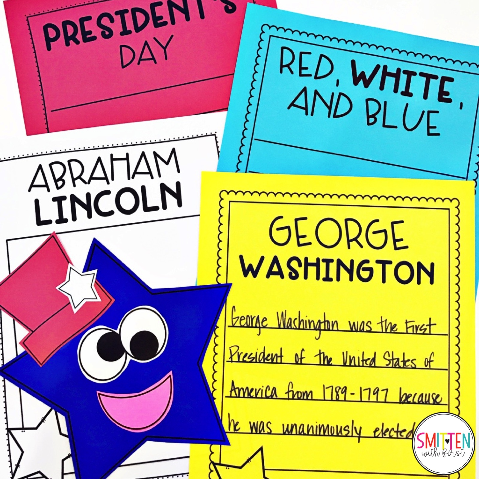 February Presidents Day Writing Activities And Crafts