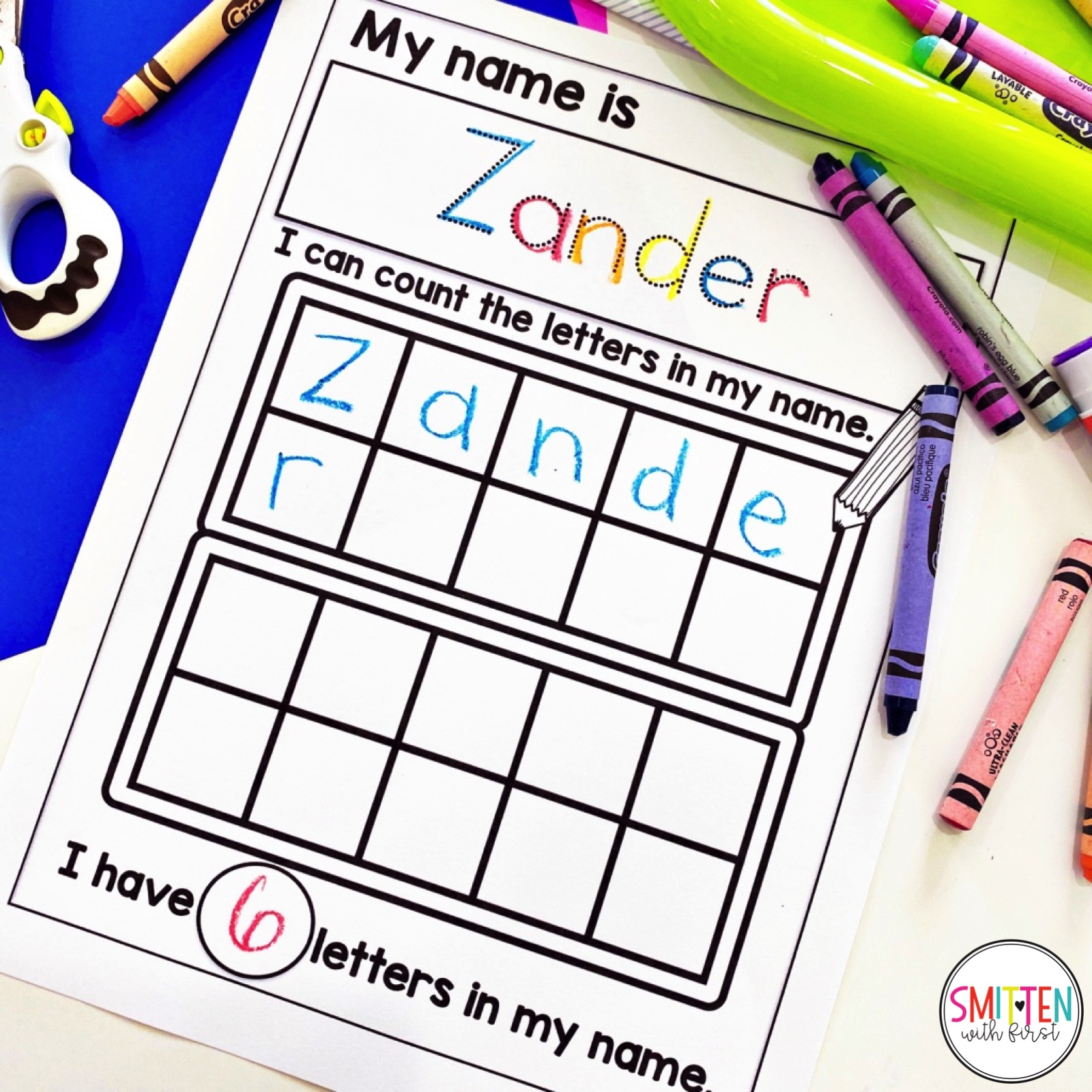 Editable Name Worksheets For Tracing Writing Reading For