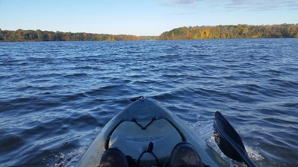 Buckeye Kayak Fishing Angler of the Year at Kiser Lake