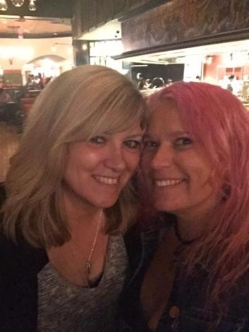 Brenda Drake & me