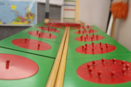 How to learn about fractions at Montessori