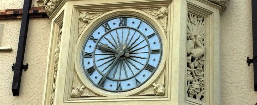 London Square clock face Perth Australia