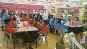Lawatan Penanda Aras SMK Bandaraya Kota Kinabalu ke asrama smke