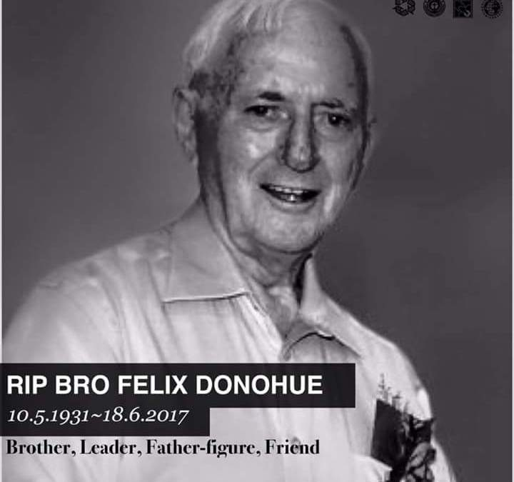 The Passing Of Our Beloved Brother Felix Donohue