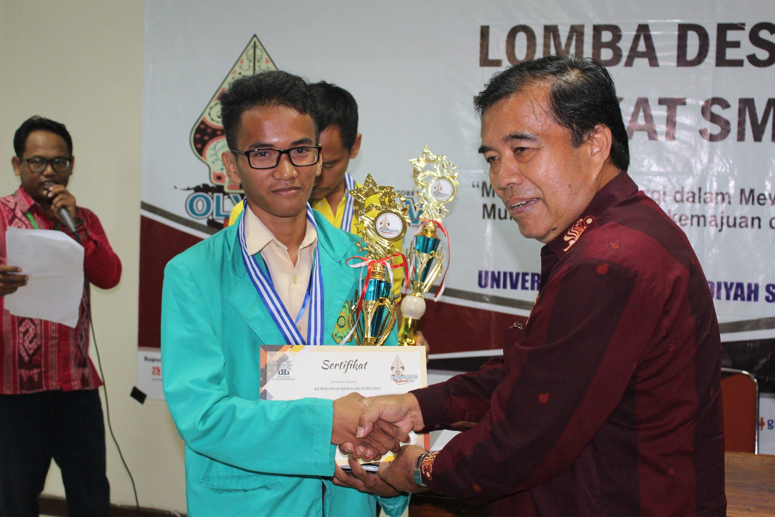 Juara 1 lomba WEB DESAIN NASIONAL