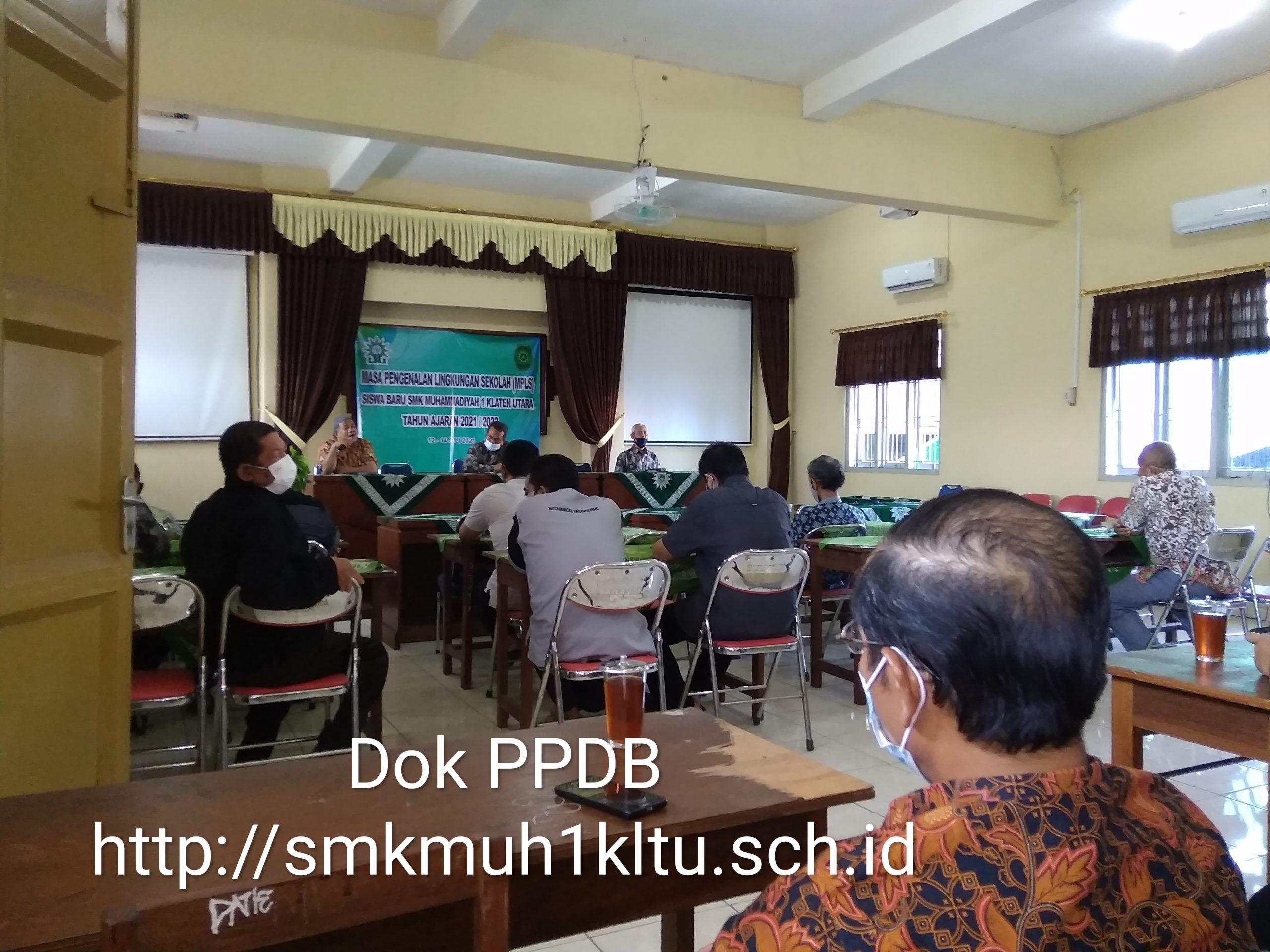 Rapat Pembagian Jam mengajar
