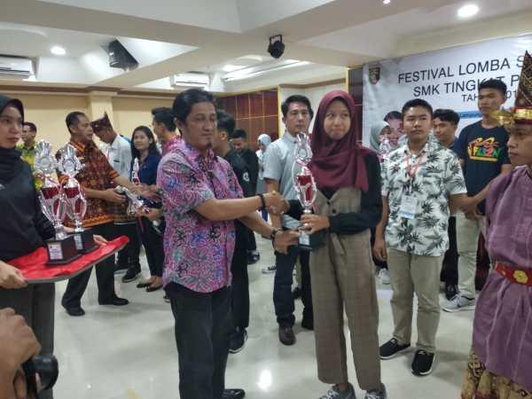 SMK NEGERI 1 TULANG BAWANG TENGAH RAIH JUARA 1 TEATER TINGKAT PROVINSI