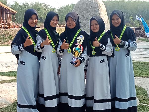 Juara 3 Lomba Nasyid AGPAI Tingkat Kabupaten Tahun 2019