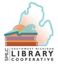 southwest michigan library cooperative logo