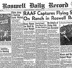 Azi se implinesc 66 de ani de la incidentul OZN de la Roswell