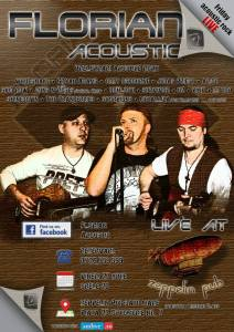 Seara de rock in Satu Mare cu Florian Acoustic
