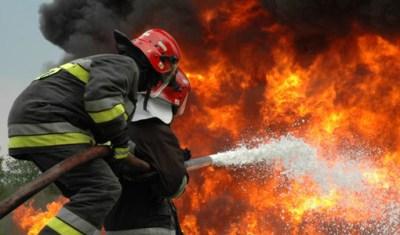 Incendiu la un grajd din Certeze