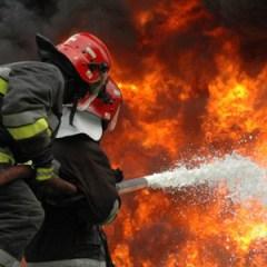 Casă salvată din flăcări în localitatea Boghiş