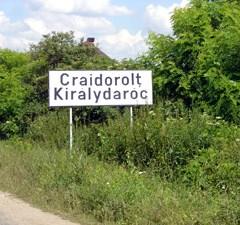 Drumul județean 195B, între Satu Mare şi Craidorolţ, este plin de gropi