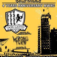 Aniversare 4 ani de NWHC si Grand Opening Underground Angels Rock Bar