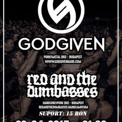 Concert Godgiven si Red And The Dumbasses la Satu Mare