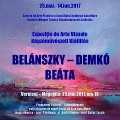 INVITATIE – Vernisaj expozitie de arte vizuale, Belanszky-Demko Beata