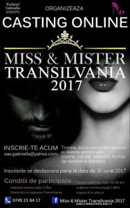 Au inceput inscrierile pentru concursul Miss & Mister Transilvania 2017 din Satu Mare