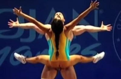 VIDEO Cel mai deocheat sport văzut vreodată. Imagini desprinse din filmele pentru adulți