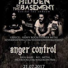 Concert Hidden In The Basement si Anger Control la Satu Mare