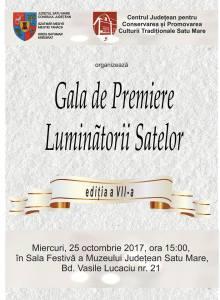 Gala de premiere- Luminătorii satelor Ediția a VII-a