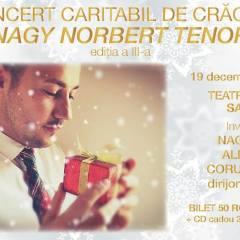 Concert Caritabil de Crăciun – Tenorul Norbert Nagy