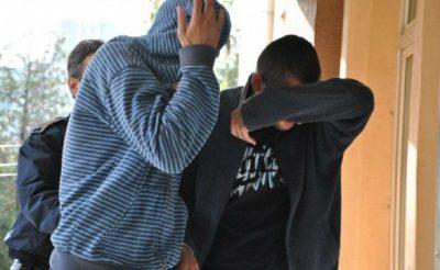 Doi tineri banuiti ca au sustras camerele video si apoi material lemnos