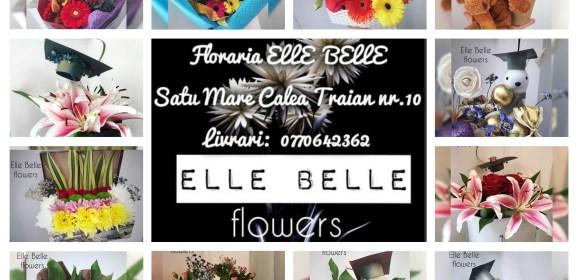 Aranjamente si cadouri, special pentru absolventi la Floraria Elle Belle pe Calea Traian nr.10