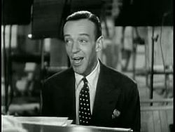 Fred Astaire singing