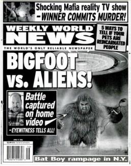 Big Foot vs aliens