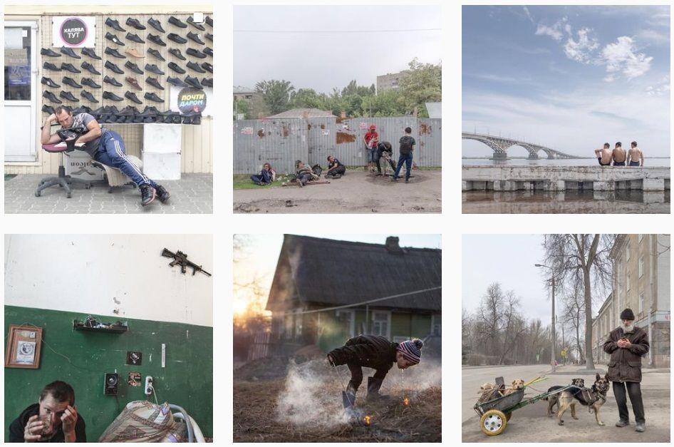 PhotoChomodnik Dmitri Markova, care face fotografii colorate ale adâncimilor ruse pe iPhone, în Instagram peste 800 de mii de abonați