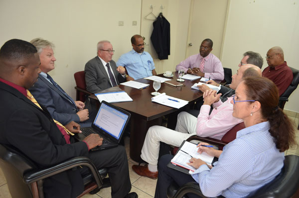St. Martin News Network - Minister Lake meets with ...