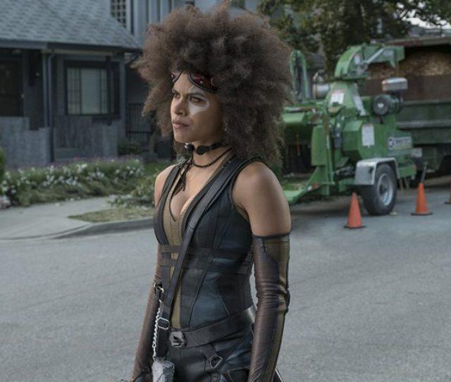 Zazie Beetz Deadpool 2