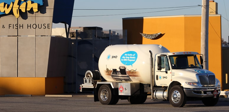 Commercial Fuel Service Truck