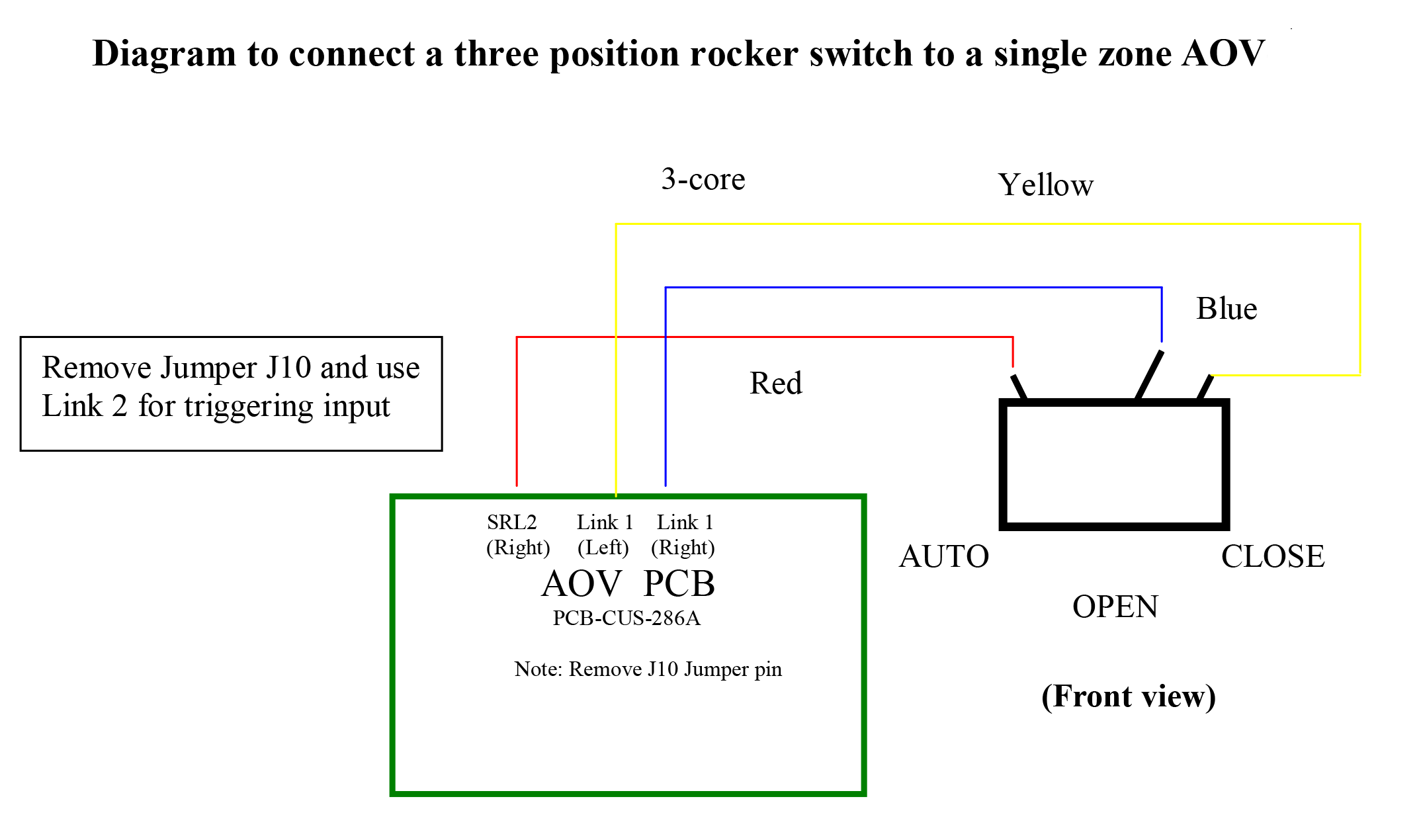 Rocker Switch Schematics One
