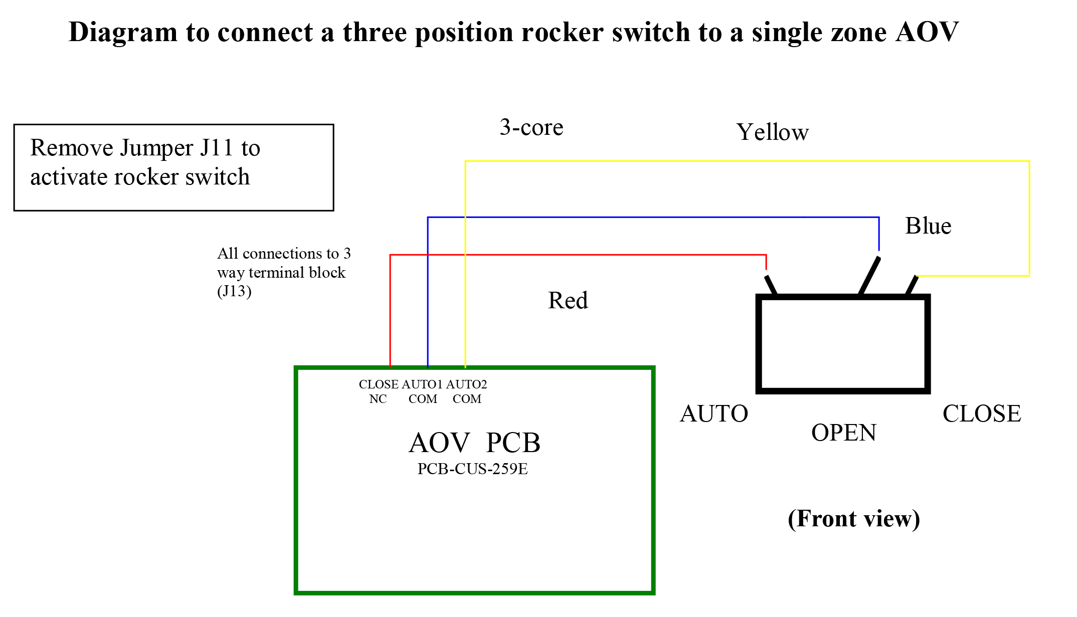 Rocker Switch Schematics Two