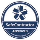 SafeContractor approved badge