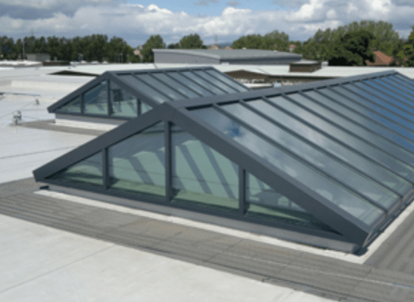 Dual Pitch Roof Light