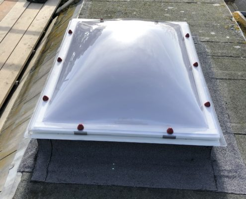 Hatch fitted on Roof
