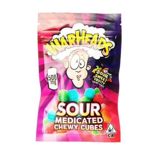 Warheads Sour Medicated Gummies Cannabis Edibles