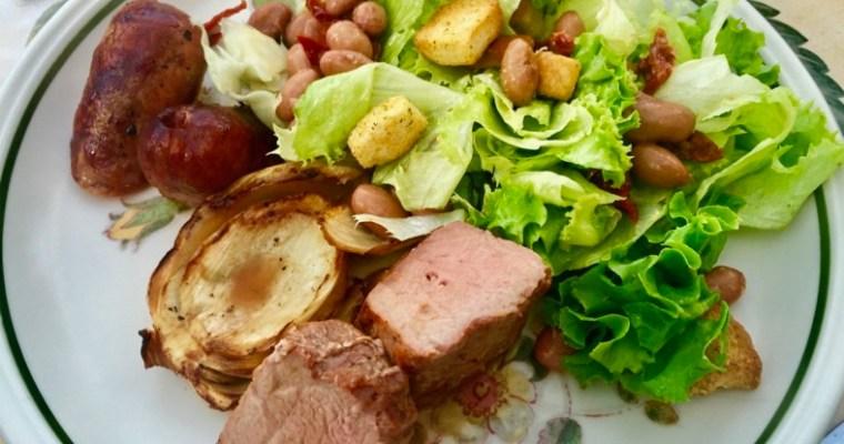 Pork 2 Ways – Tuscan style
