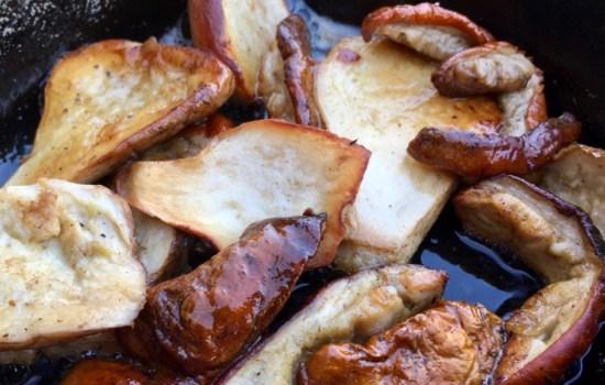 Porcini in the pan
