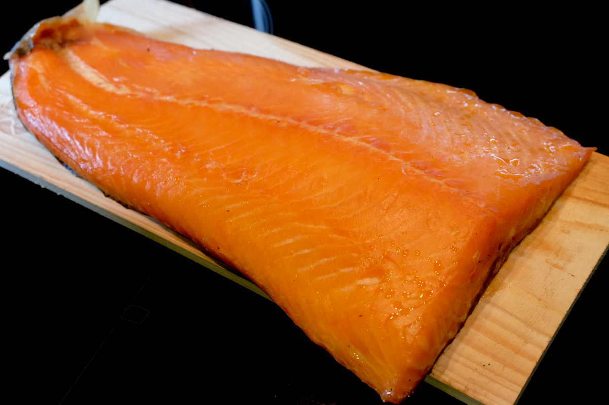 Hot Smoked Salmon – Cedar and Beech Smoked
