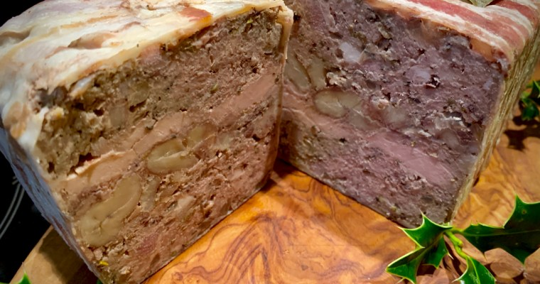 Pheasant and Chestnut Terrine – not just for Christmas