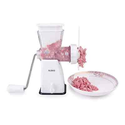 ALISKID Hand Crank Manual Meat Grinder