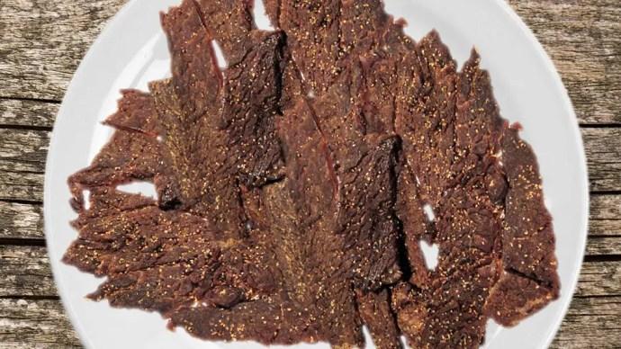 smoked beef jerky