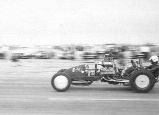 Hashim Dragster, 133 MPH