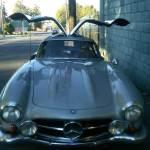 Hiding In Plain Sight A 1954 300SL Gullwing Mercedes