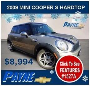 Payne 2009 Mini Cooper 1527A 288